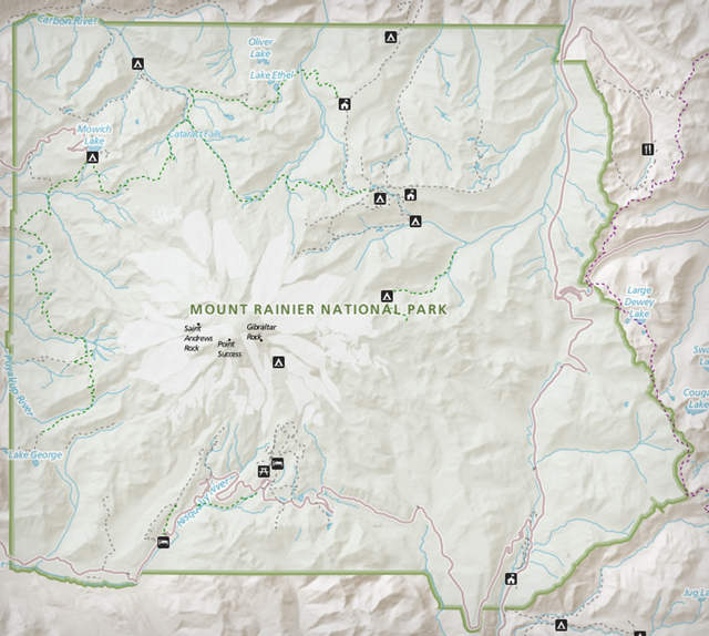 National Park Service uses OpenStreetMap to map Mt. Rainier