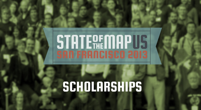 State of the Map 2013 - Scholarships