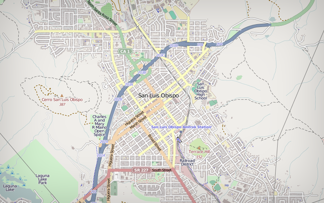 San Luis Obispo Fire Department uses OpenStreetMap