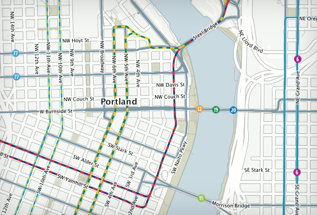Portland TriMet uses OpenStreetMap for traffic maps
